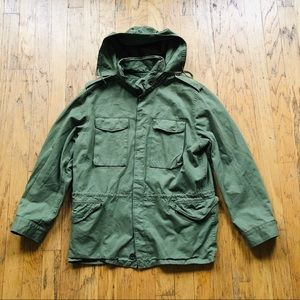 Banana Republic Garment Dye Military Field Jacket